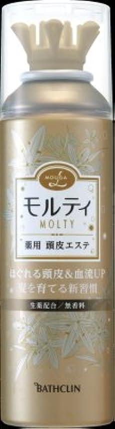 高尚な競争三十バスクリン モウガ L モルティ薬用頭皮エステ 130g 医薬部外品 (育毛剤 女性用)MOUGA MOLTY×24点セット (4548514515659)