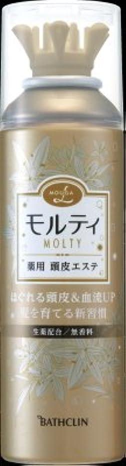 バスクリン モウガ L モルティ薬用頭皮エステ 130g 医薬部外品 (育毛剤 女性用)MOUGA MOLTY×24点セット (4548514515659)