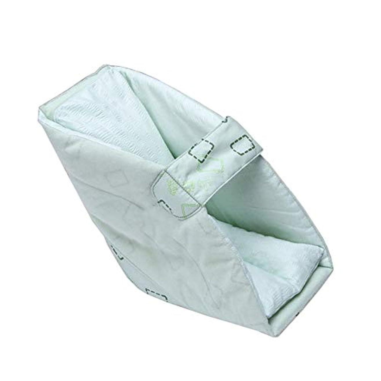 非互換アイドルマウント足首フットカバー、ヒールフットドロップ保護パッド、車椅子の耐摩耗性フットカバーベッド患者ケア製品