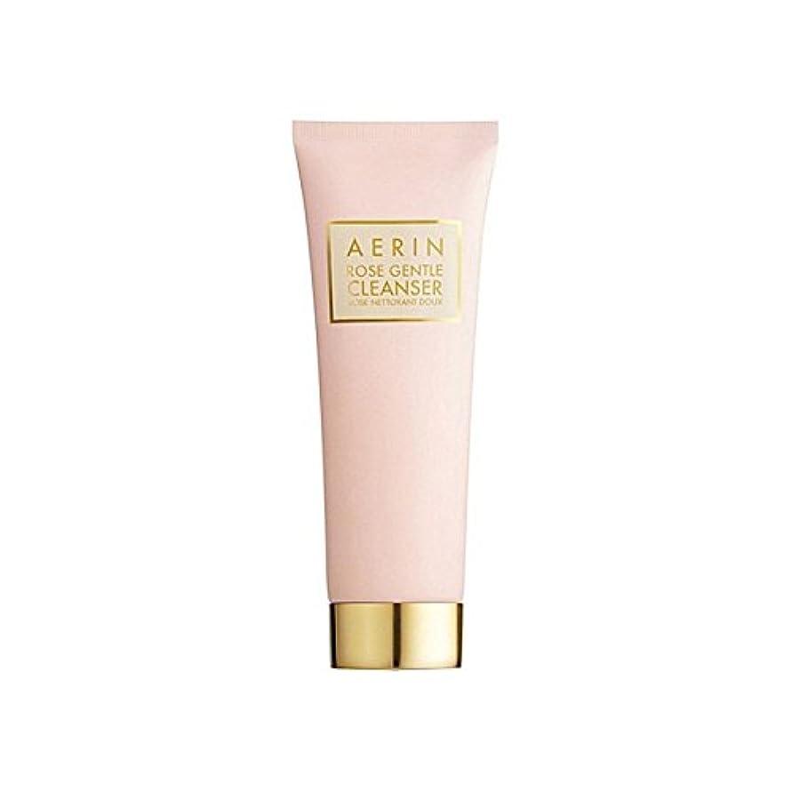 ワンダー吹きさらし母音Aerin Rose Gentle Cleanser 125ml (Pack of 6) - はジェントルクレンザーの125ミリリットルをバラ x6 [並行輸入品]