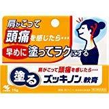 【第3類医薬品】塗るズッキノン 15g ×10
