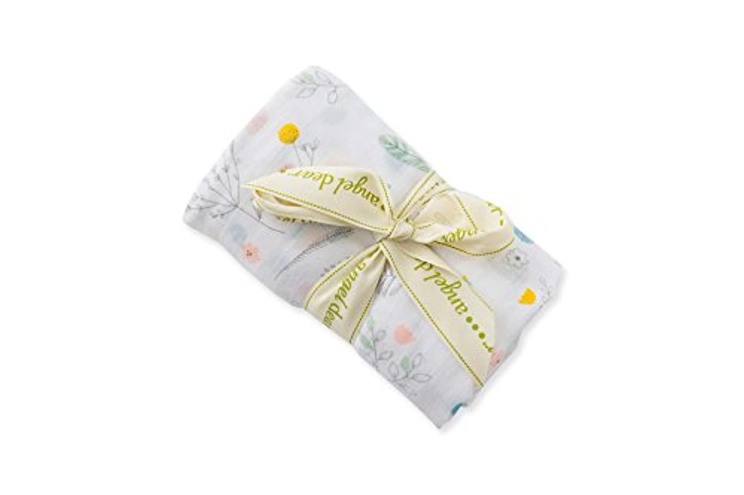 Angel Dear Pretty Foliage Bamboo Swaddle Blanket (サイズ1 )