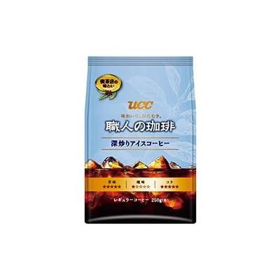 UCC 職人の珈琲 深炒りアイスコーヒー(粉) 250g袋×12(6×2)袋入×(2ケース)