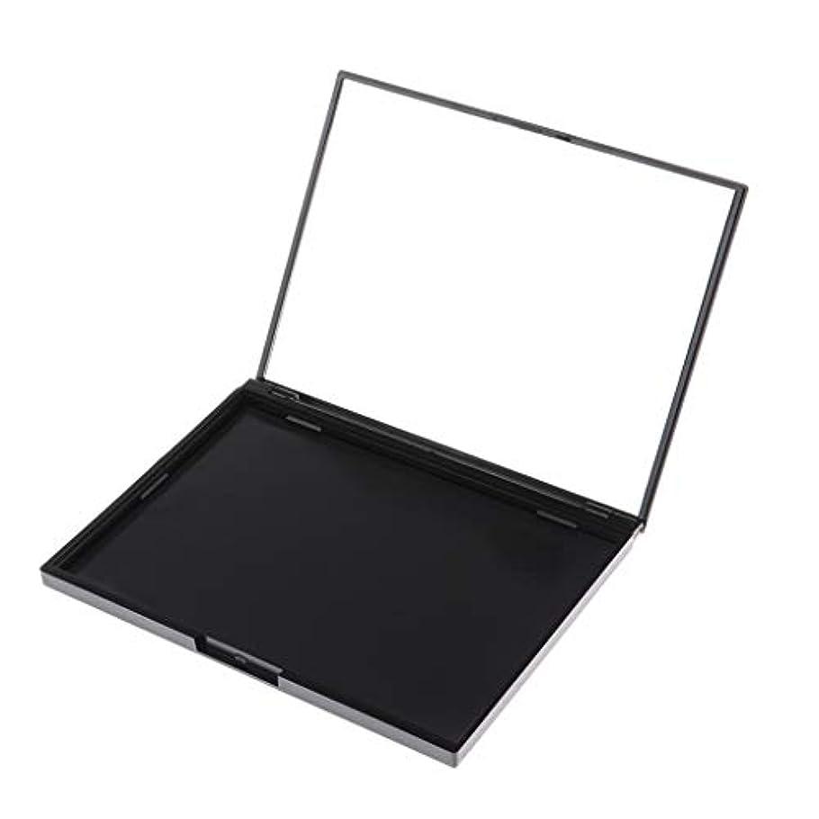 不条理塩クラックポット磁気 空パレット パウダーパレット アイシャドー パレット DIY 空ケース 15スロット 全4色 - 01