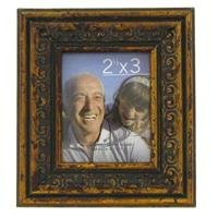 "2 1/2"" x 3"" Bronze Mini Photo Frame [並行輸入品]"