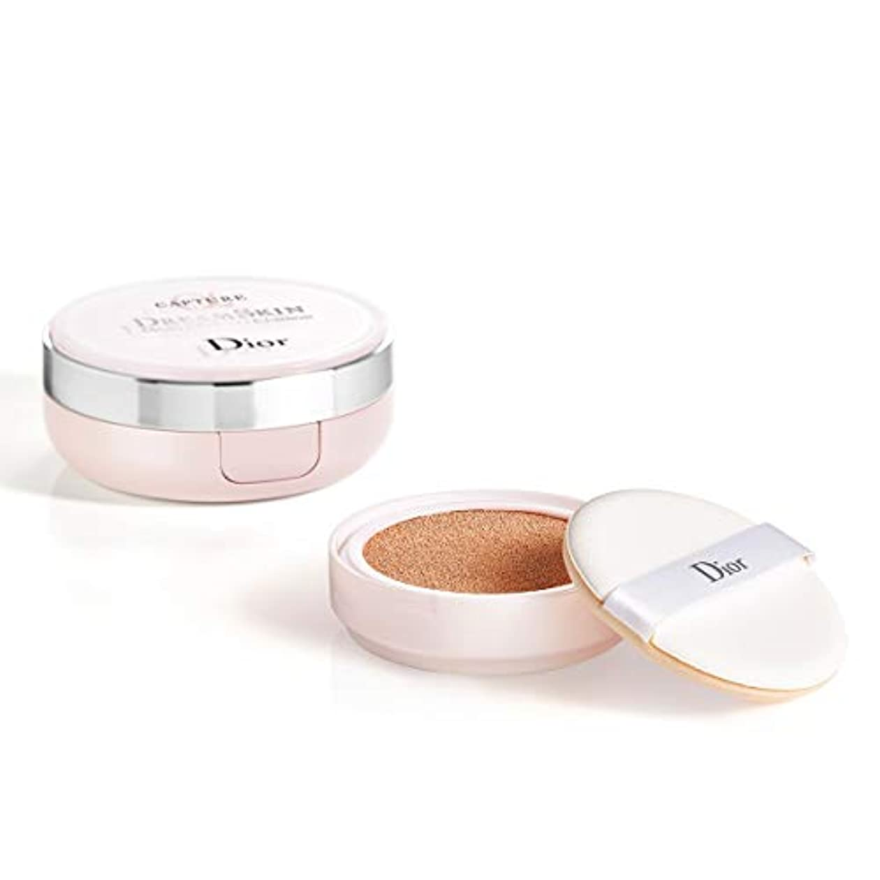 乱暴な石灰岩アブセイクリスチャンディオール Capture Dreamskin Moist & Perfect Cushion SPF 50 With Extra Refill - # 025 (Soft Beige) 2x15g/0.5oz並行輸入品