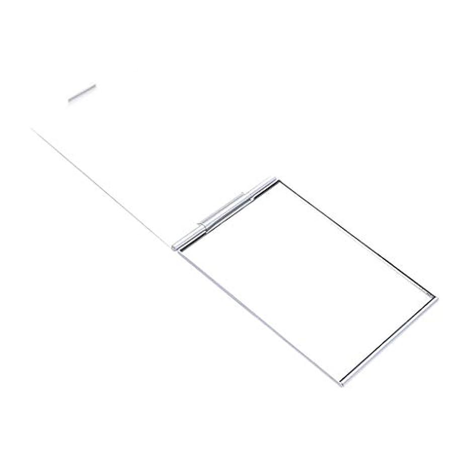消費遵守するプラカードファッション ポケットサイズ 化粧ミラー メイクアップミラー スクエア 2サイズ選べ - 4