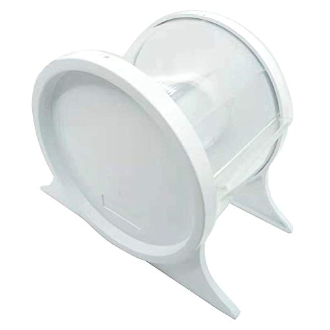 騒乱唯一呼吸Healifty 1ピース使い捨て歯科バリアフィルムディスペンサー保護スタンドホルダーシェルフ歯科ツール(ホワイト)