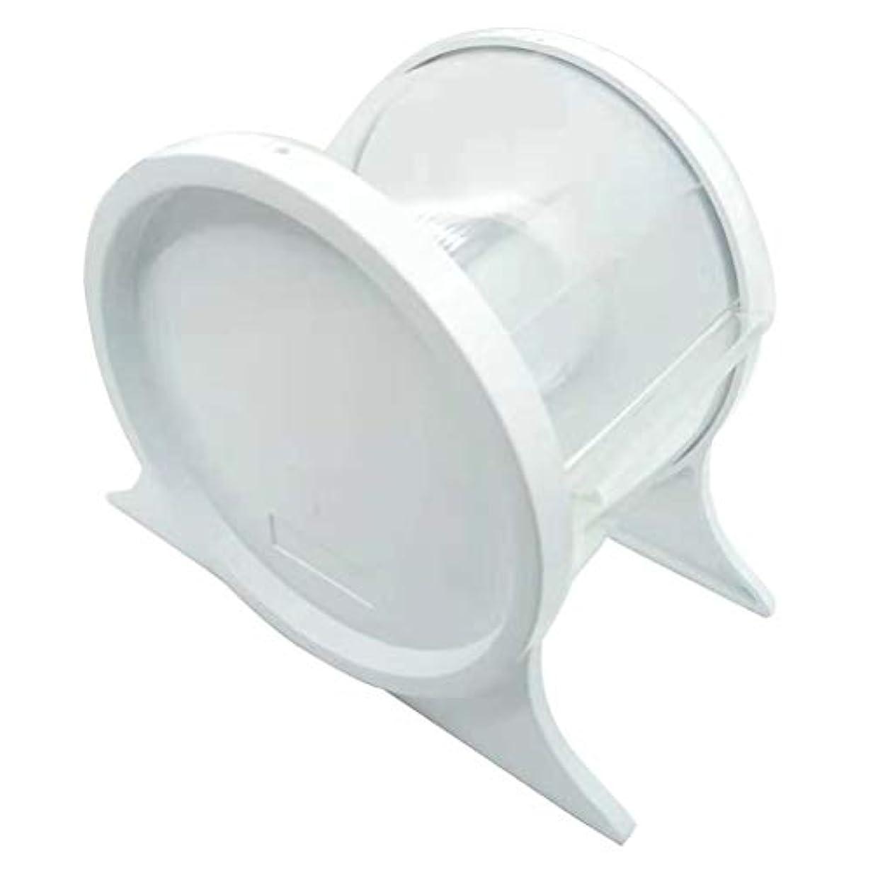 反発する火士気SUPVOX 歯科用バリアフィルムディスペンサー使い捨て保護スタンドホルダーシェルフ歯科用ツール1本(ホワイト)