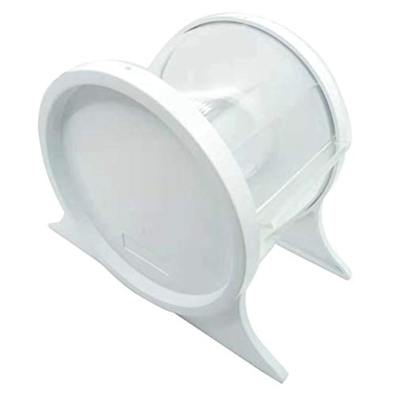 頭スキニー純正Healifty 1ピース使い捨て歯科バリアフィルムディスペンサー保護スタンドホルダーシェルフ歯科ツール(ホワイト)
