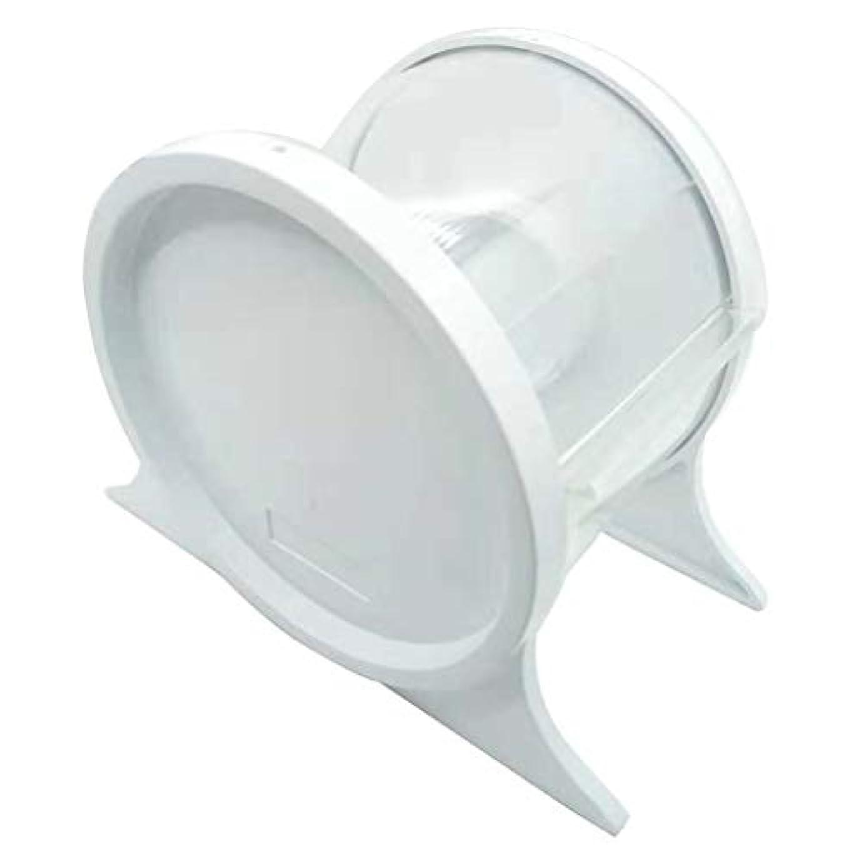 毒液くつろぎ一致するHealifty スタンドホルダーシェルフ歯科ツールを保護する使い捨て歯科用バリアフィルムディスペンサー(ホワイト)