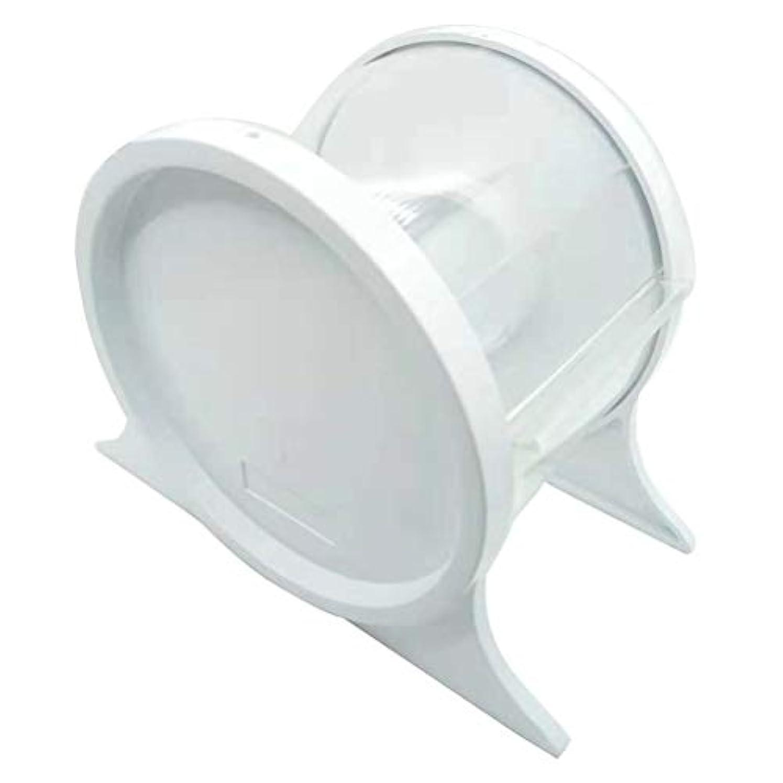 法的実際の令状SUPVOX 歯科用バリアフィルムディスペンサー使い捨て保護スタンドホルダーシェルフ歯科用ツール1本(ホワイト)