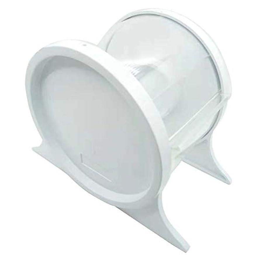 心理的に助けて膨らませるHealifty 1ピース使い捨て歯科バリアフィルムディスペンサー保護スタンドホルダーシェルフ歯科ツール(ホワイト)