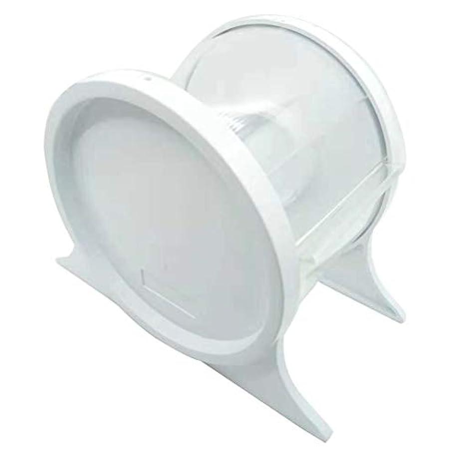 うなずくお肉コンドームHealifty 1ピース使い捨て歯科バリアフィルムディスペンサー保護スタンドホルダーシェルフ歯科ツール(ホワイト)