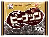 不二家 ピーナッツチョコレート 180g