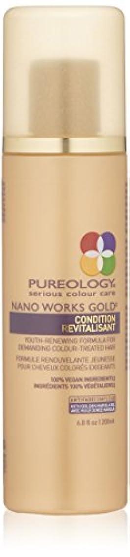 マウス引き算アンタゴニストby Pureology NANO WORKS GOLD CONDITIONER 6.8 OZ by PUREOLOGY