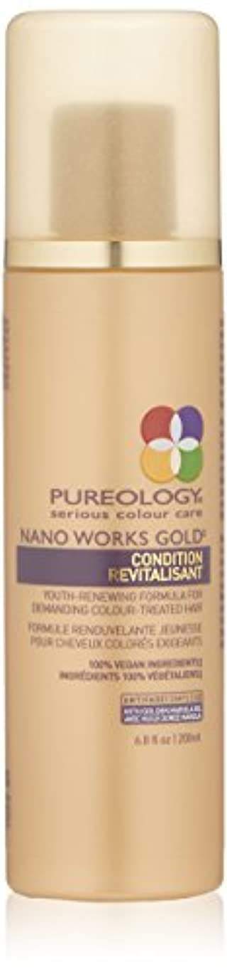 動物経験的形式by Pureology NANO WORKS GOLD CONDITIONER 6.8 OZ by PUREOLOGY
