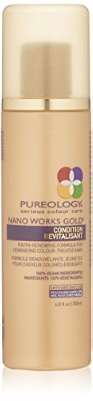 タオル花嫁月曜日by Pureology NANO WORKS GOLD CONDITIONER 6.8 OZ by PUREOLOGY