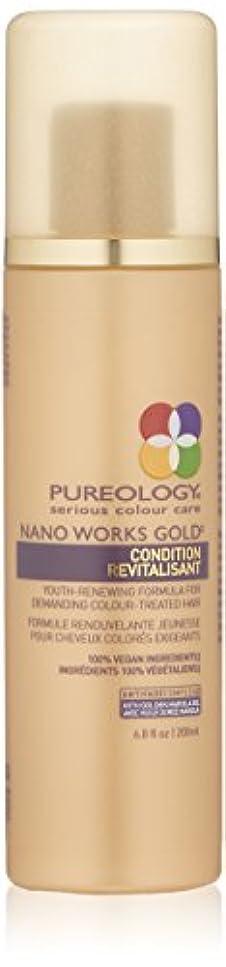 電報贈り物カカドゥby Pureology NANO WORKS GOLD CONDITIONER 6.8 OZ by PUREOLOGY