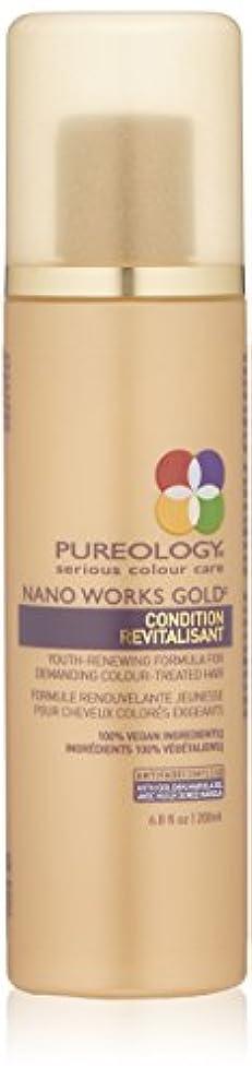 終わったエンターテインメントのりby Pureology NANO WORKS GOLD CONDITIONER 6.8 OZ by PUREOLOGY