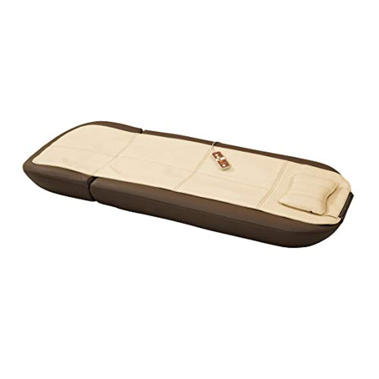 極小人質上陸ツカモトエイム マッサージマット 寝ながら 肩 背中 腰 お尻 管理医療機器 AIM-121(BR)ブラウン