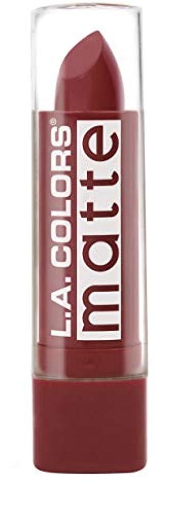 カーテンペルソナ機械的L.A. COLORS Matte Lip Color - Brick (並行輸入品)