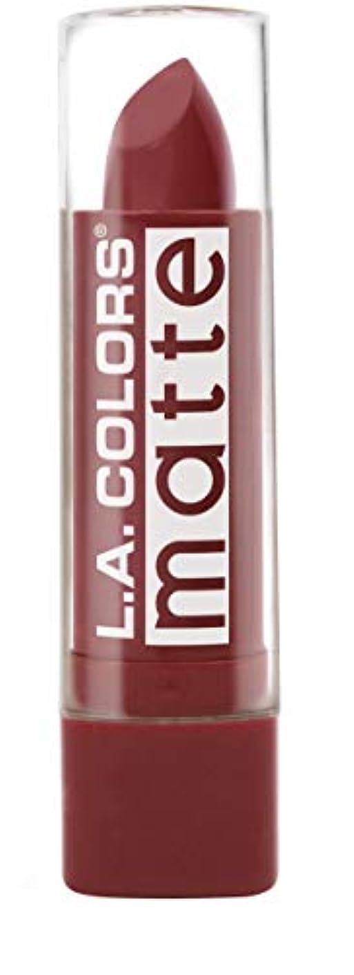 契約したカトリック教徒物理L.A. COLORS Matte Lip Color - Brick (並行輸入品)