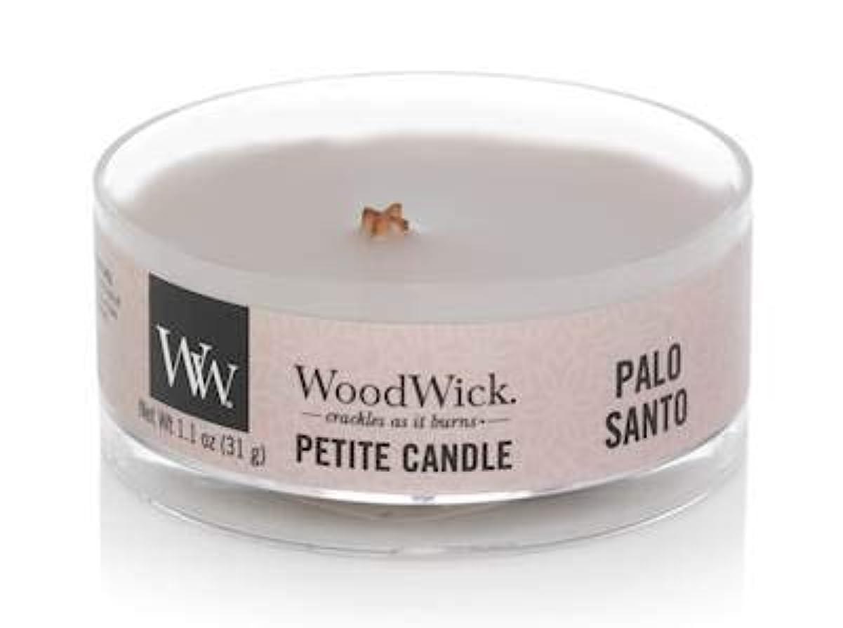 ミリメートル手がかりエコーWoodWick PALO Santo 1.1オンス 香り付きキャンドル