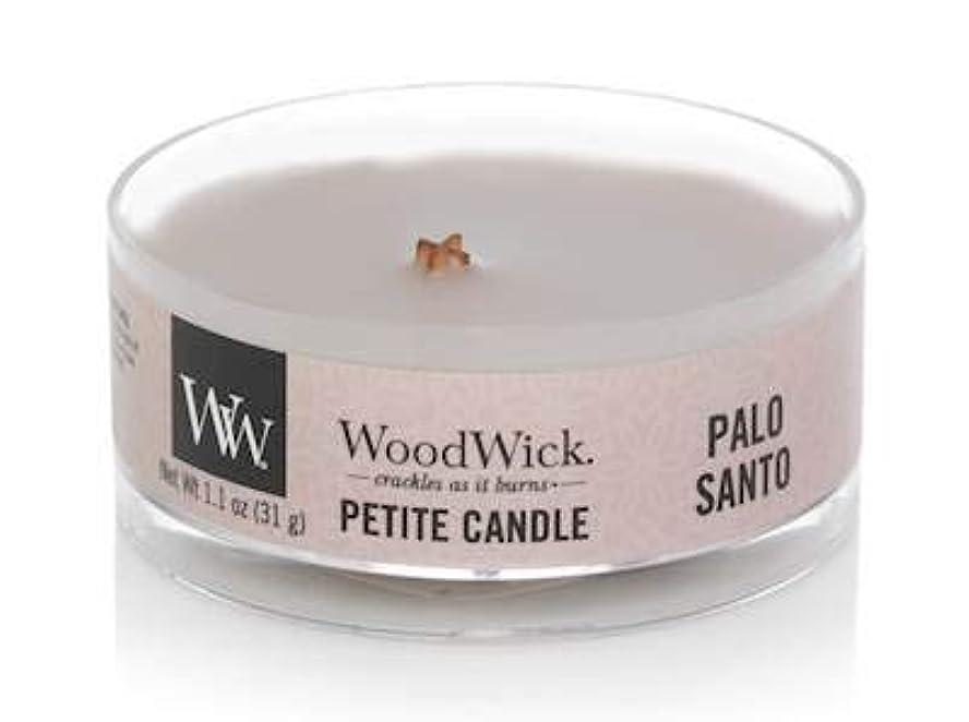 式式世界的にWoodWick PALO Santo 1.1オンス 香り付きキャンドル