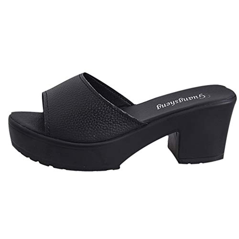 レディース サンダル Tongdaxinxi サンダル レディース ビーチサンダル ハイヒール ヒール 厚底 ヒール ラインストーン付き ウェッジヒール 韓国風 オープントゥ 痛くない 通勤 通学 美脚 靴 シューズ 女性 歩きやすい