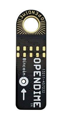 Opendime ビットコイン運搬USB証明スティック ビットコイン用使い捨...