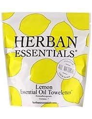 ハーバンエッセンシャルズ HERBAN ESSENTIALS アロマタオル ミニ レモン 7包