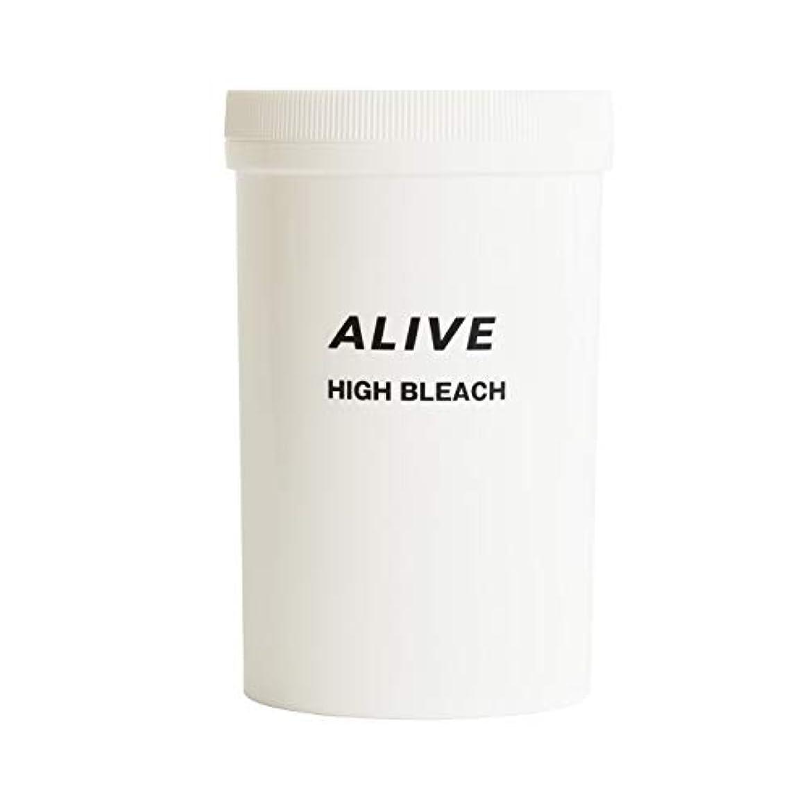 コック比較溶かすALIVE HIGHT BLEACH アライブ ハイブリーチ