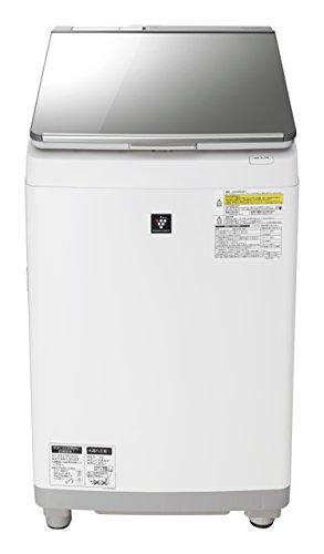 シャープ 超音波ウォッシャー搭載 タテ型洗濯乾燥機 11kg シルバー系 ES-PU11B-S