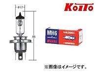 KOITO ノーマルバルブ 耐振H4 12V 60/55W 0489 二輪車ハロゲン前照灯用(一般車用)