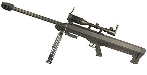 SNOW WOLF バレットM99 (対物ライフル) エアーコッキング スコープ&バイポット付属