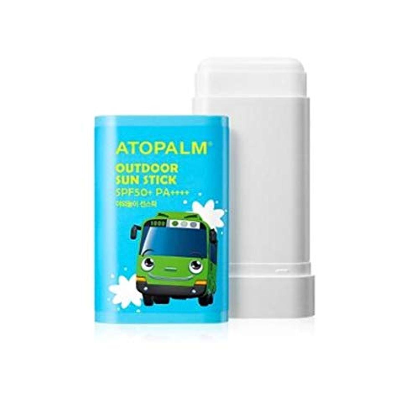 阻害するカーフ青写真ATOPALM OUTDOOR Sun Stick (EWG all green grade!) SPF50+ PA++++ 日焼け止めパーフェクトUVネック?手?足の甲?部分的に塗って修正スティック [並行輸入品]