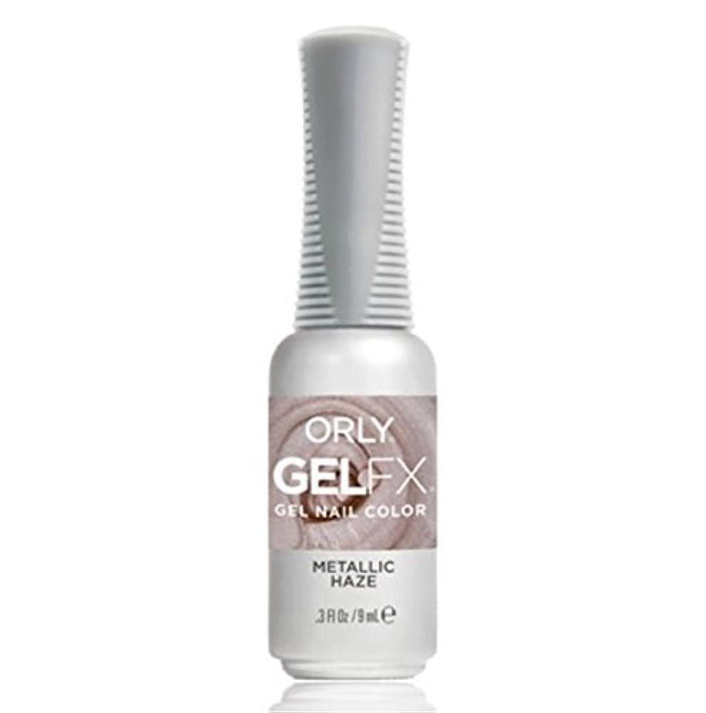 適合しました放棄された日付Orly Gel FX - Pastel City Collection Spring 2018- Metallic Haze - 0.3 oz / 9 mL