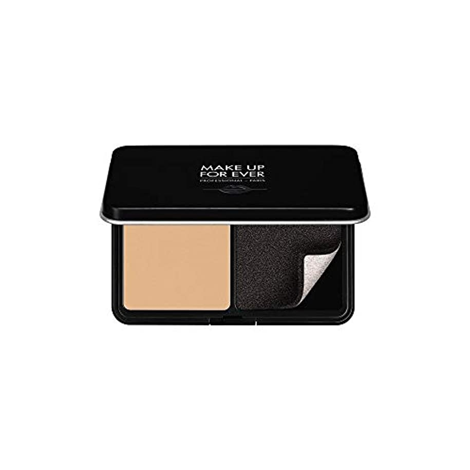 自伝疫病実業家メイクアップフォーエバー Matte Velvet Skin Blurring Powder Foundation - # Y235 (Ivory Beige) 11g/0.38oz並行輸入品