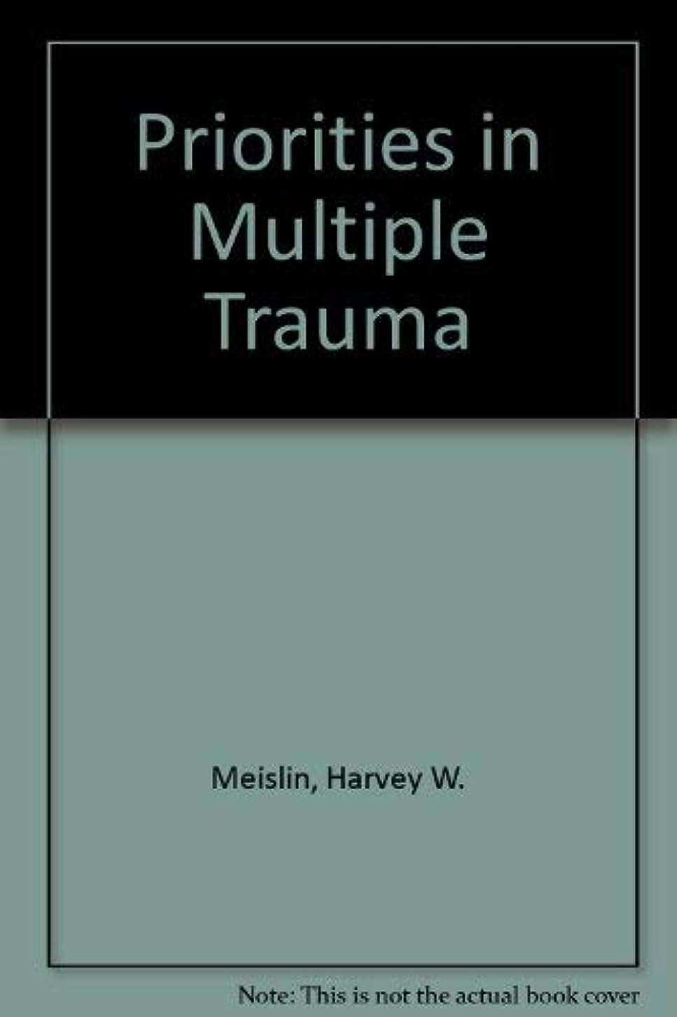 演劇実行するアナウンサーPriorities in Multiple Trauma