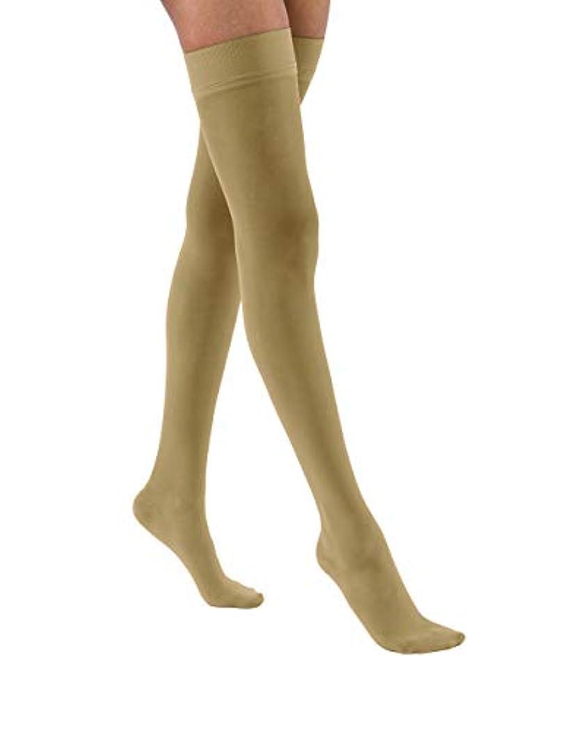 開梱シャベル性別JOBST Ultra Sheer Thigh Closed Toe Socks, Silky Beige, Medium by Jobst