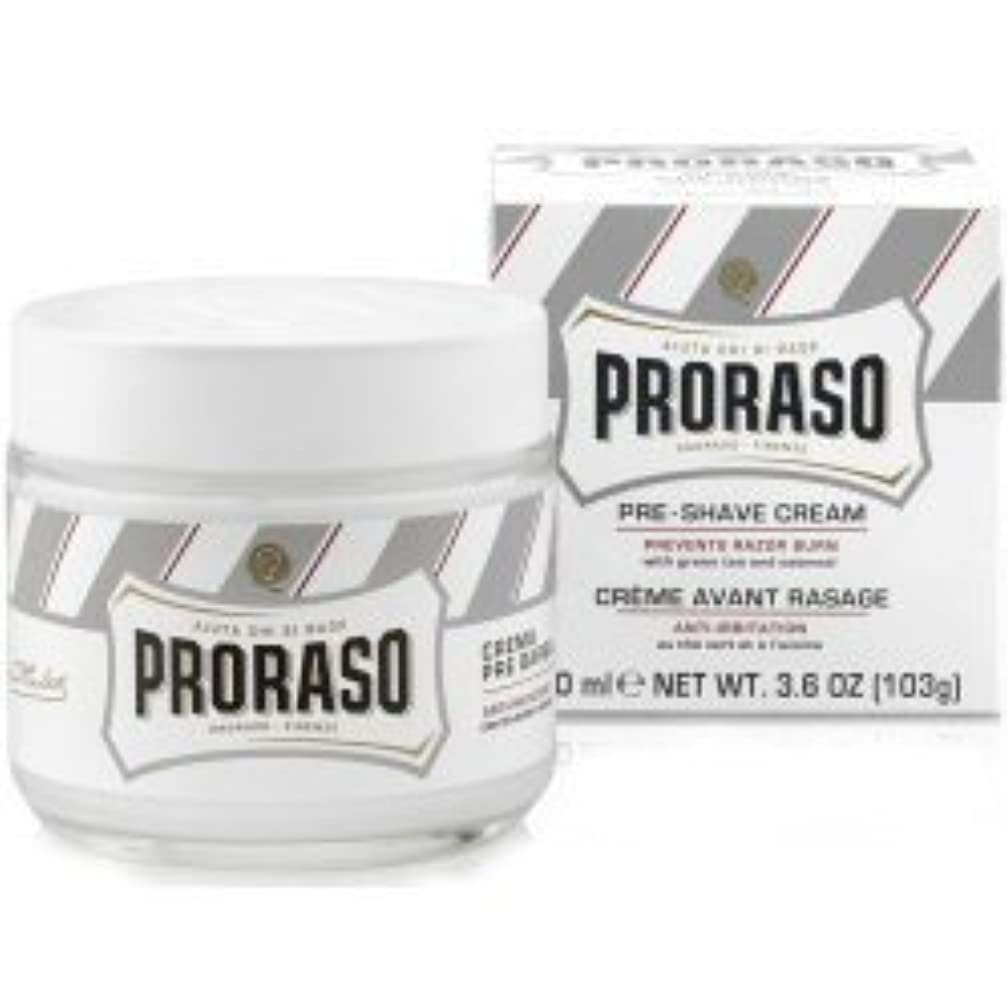 汗なくなるソートProraso Pre & Post Shave Cream Sensitive Skin 100ml by Proraso [並行輸入品]