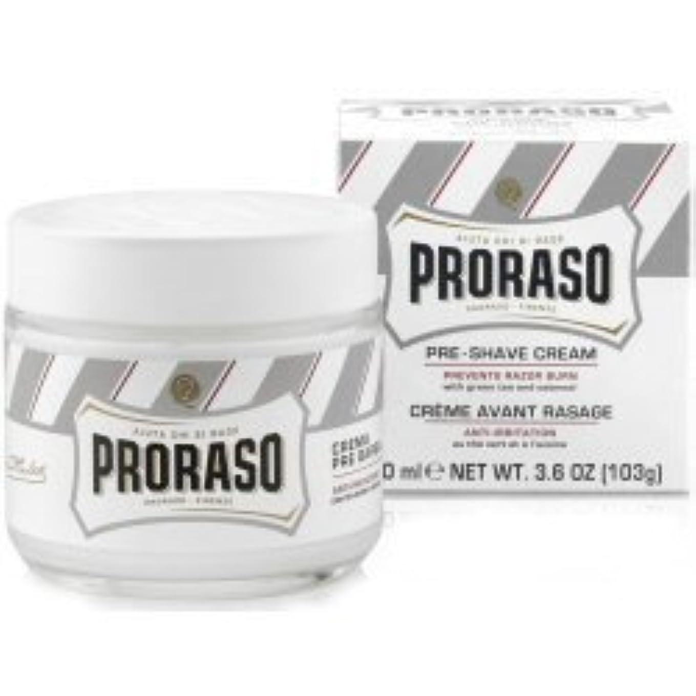 彫刻家毛細血管スローProraso Pre & Post Shave Cream Sensitive Skin 100ml by Proraso [並行輸入品]