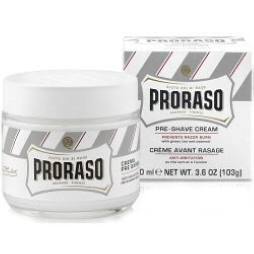 ステージデータベースプラットフォームProraso Pre & Post Shave Cream Sensitive Skin 100ml by Proraso [並行輸入品]