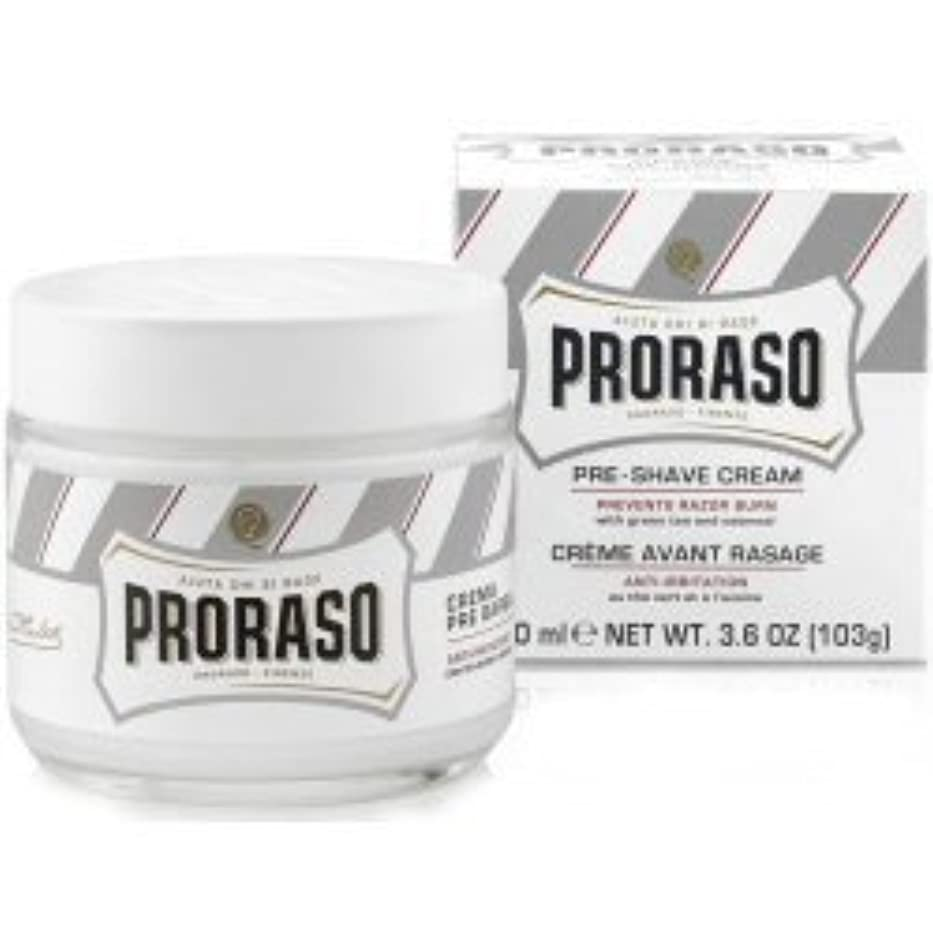 スポーツ失われた召集するProraso Pre & Post Shave Cream Sensitive Skin 100ml by Proraso [並行輸入品]