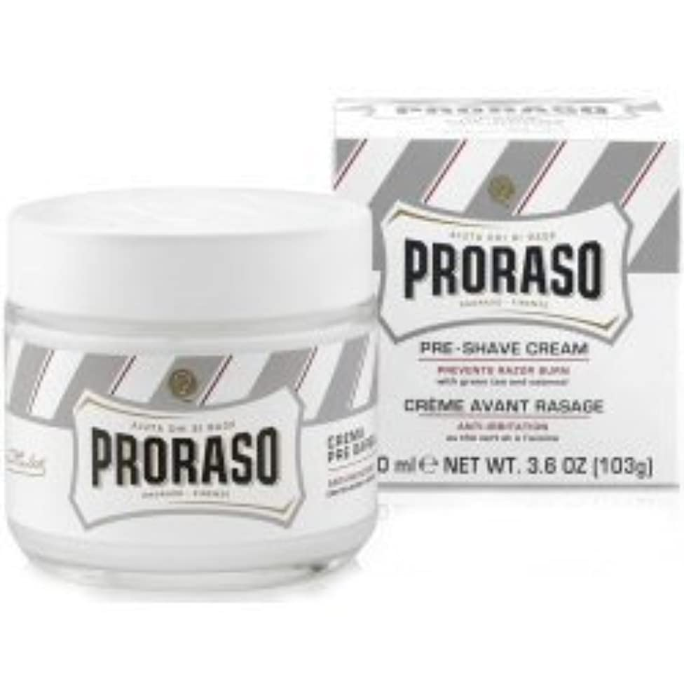 発行挑むリングProraso Pre & Post Shave Cream Sensitive Skin 100ml by Proraso [並行輸入品]