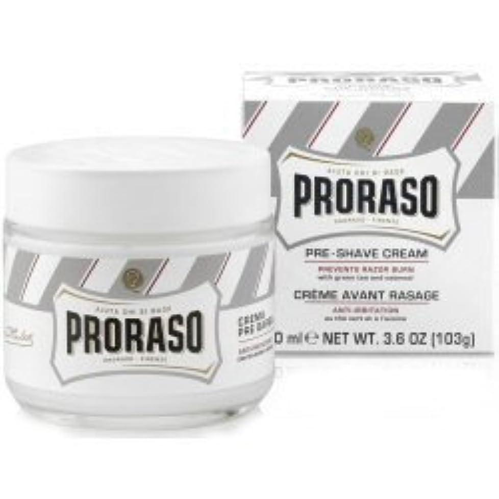 とてものど清めるProraso Pre & Post Shave Cream Sensitive Skin 100ml by Proraso [並行輸入品]