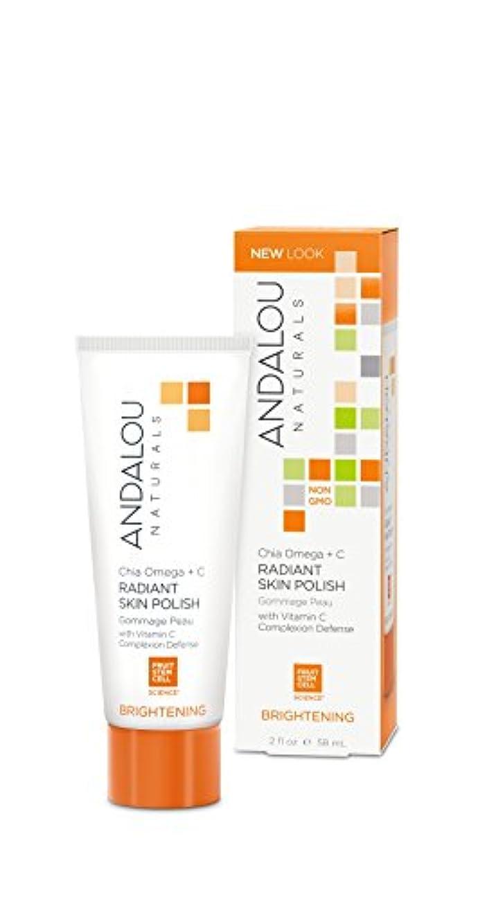 回る設計図無実オーガニック ボタニカル 洗浄料 洗顔料 スクラブ洗顔 ナチュラル フルーツ幹細胞 「 CO スキンポリッシュ 」 ANDALOU naturals アンダルー ナチュラルズ