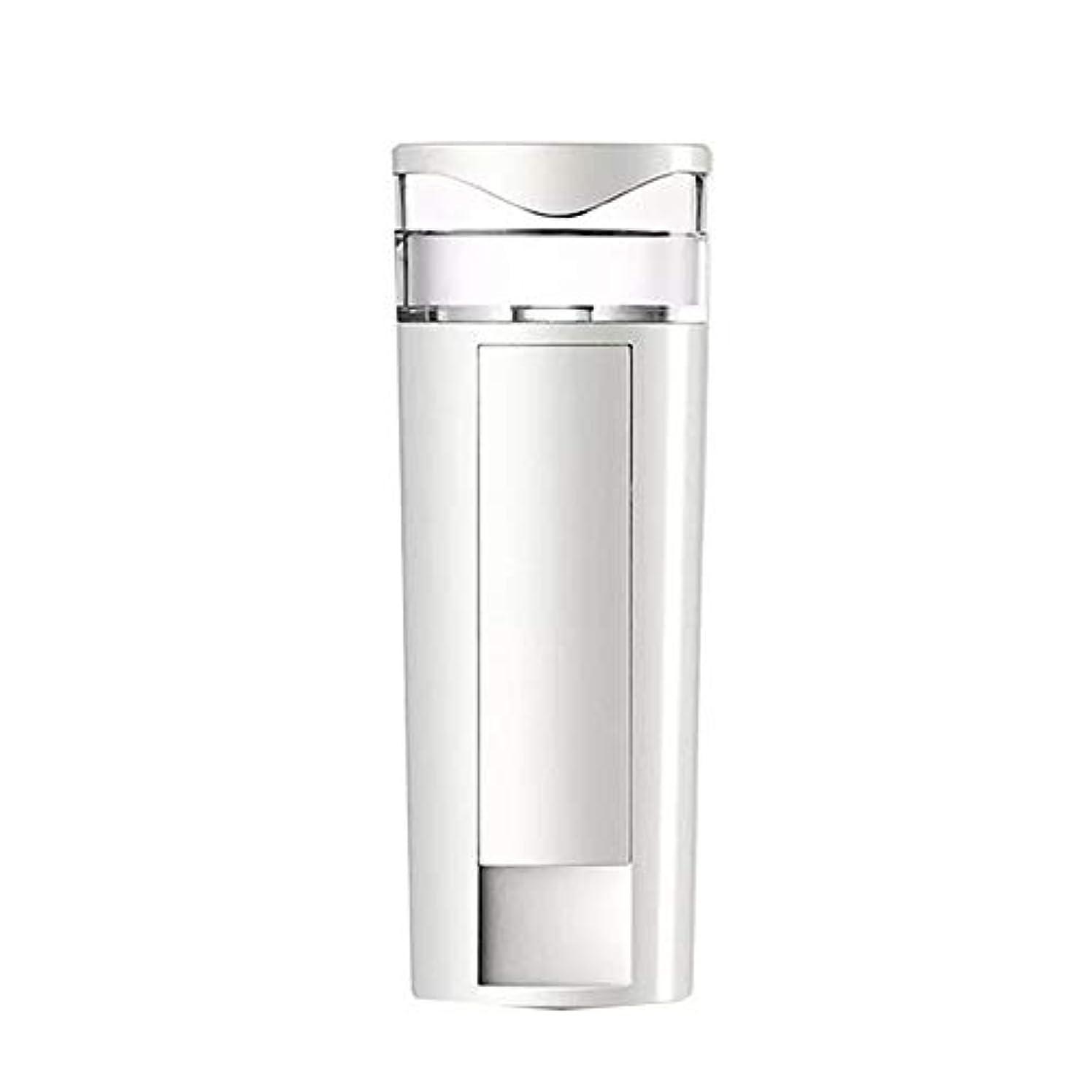 クラックポット狂信者ホールZXF 携帯用ナノスプレーの水道メーターの顔の充満表面コールドスプレー機械スプレーヤーのABS物質的な白 滑らかである