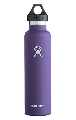 Hydro Flask ハイドロフラスク 24 oz Standard Mouth 680ml 真空 ステンレスボトル 全14色 0507020 (パープル)